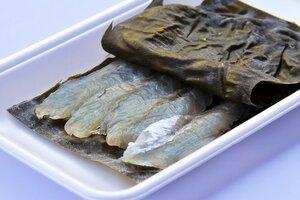 氷見産 白身魚 昆布締め
